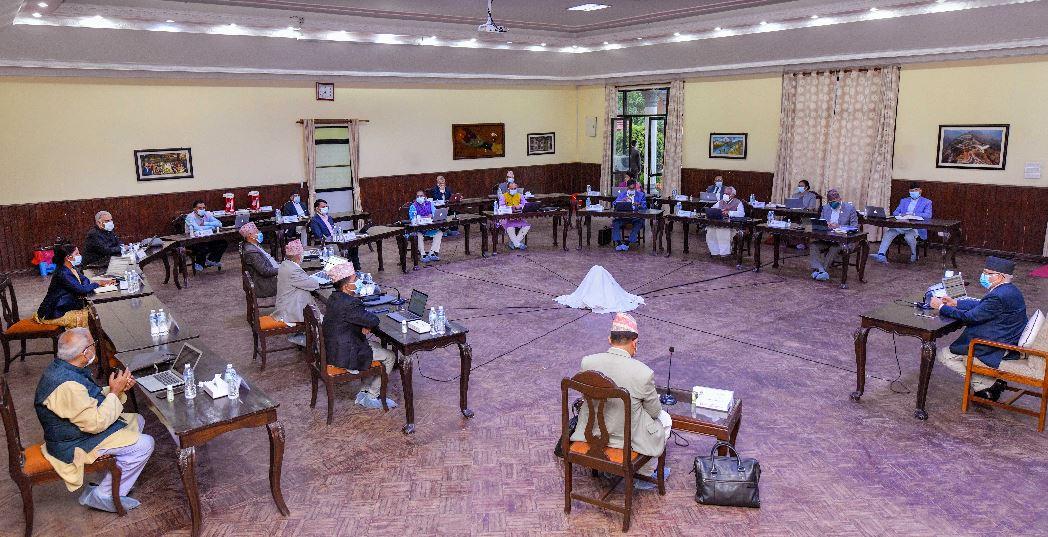 मन्त्रिपरिषदको नियमित बैठक बालुवाटारमा शुरु