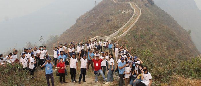 'मिनी ग्रेटवाल' पर्यटकको पहिलो रोजाइ